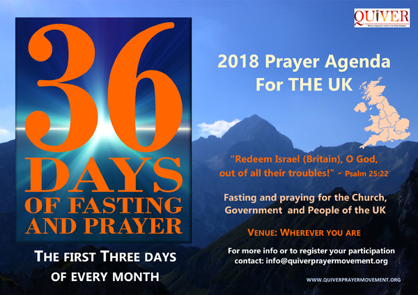36 Days of Prayer and Fasting